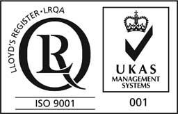 Cert ISO 9001 UKAS Icon